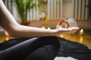 Illustration d'une méditation guidée pleine conscience
